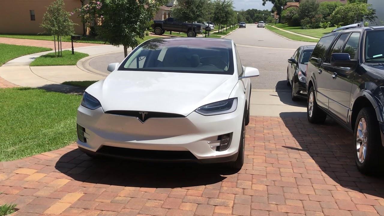 Tesla Model X Dancing Youtube
