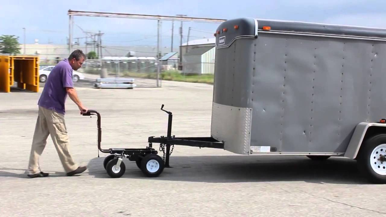 electric powered trailer dolly by overland carts doovi