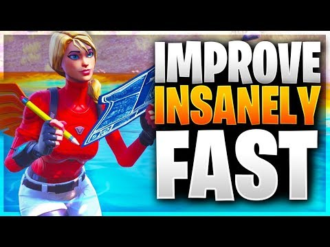 HOW TO IMPROVE INSANELY FAST! (Fortnite Battle Royale)
