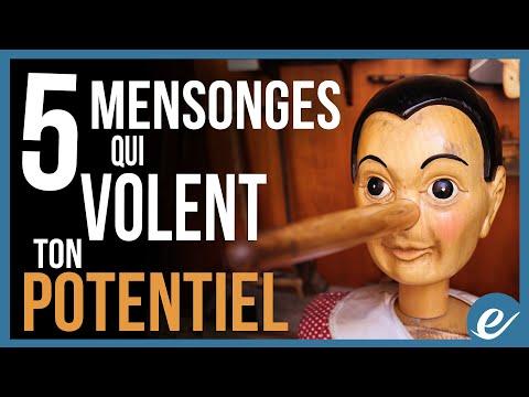 5 MENSONGES QUI VOLENT TON POTENTIEL - Luc Dumont