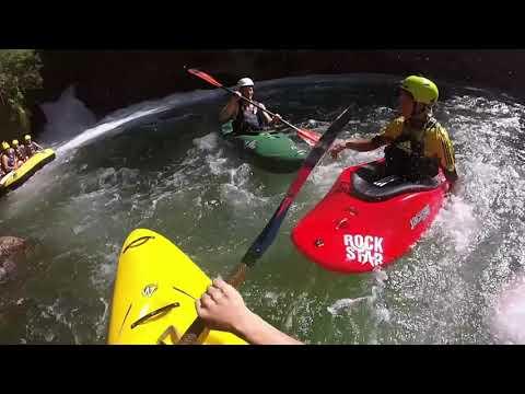 Kayaking the Kaituna - first run