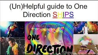 (Un)Helpful guide to One Direction Ships