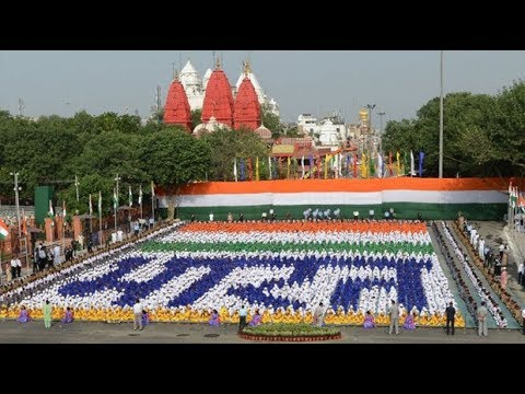India marks 70 years of independence in New Delhi