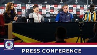 PRESS CONFERENCE | Steven Gerrard & Allan McGregor | 25 Feb 2020