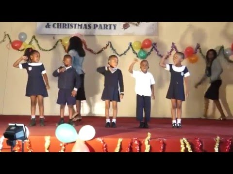Graduation, St. Anna's Preschool, Ghanzi, Botswana, 2014
