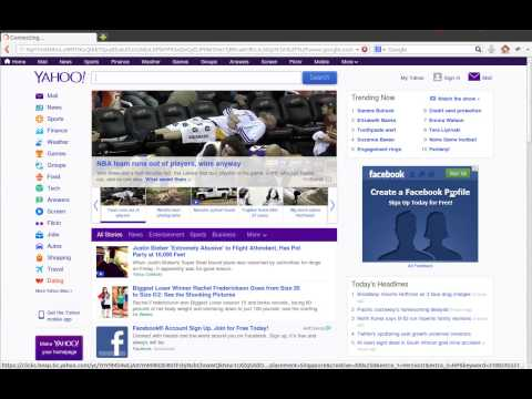 Yahoo ads Online Website Open Redirect Security Vulnerability