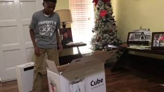 Unboxing the cube 3 3D printer
