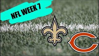 New Orleans Saints vs Chicago Bears