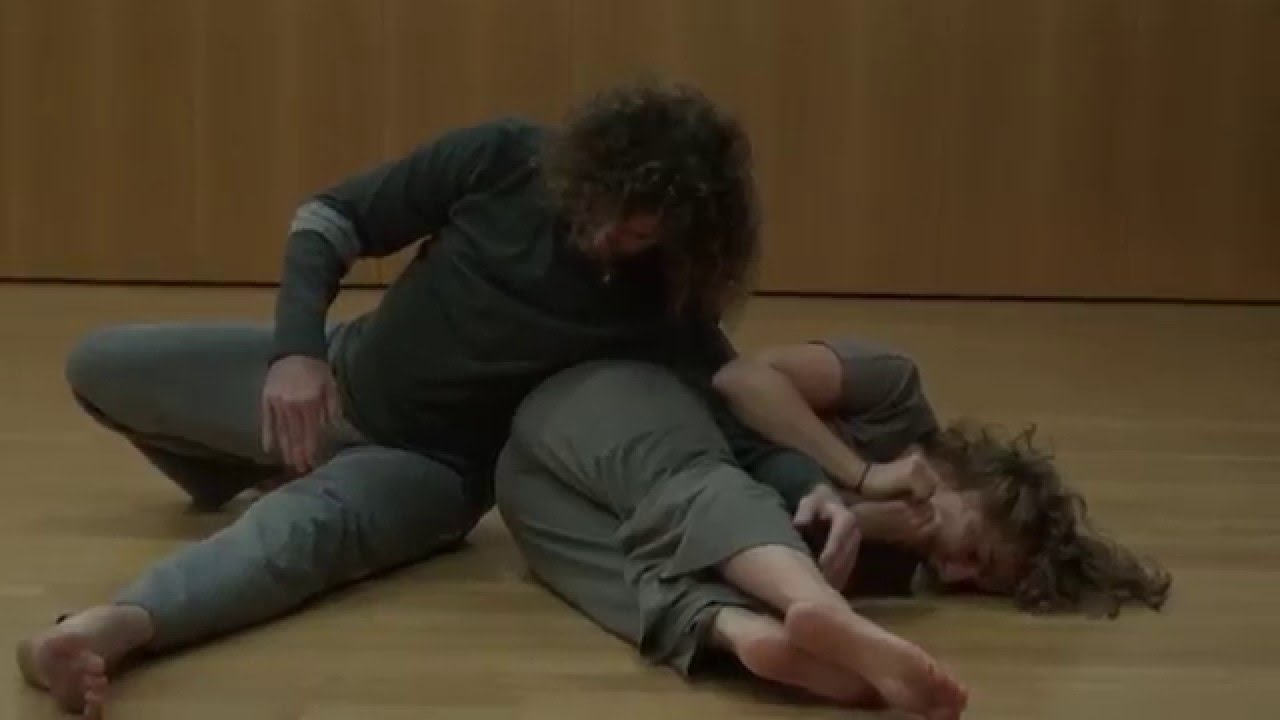 contact improvisation trio at the Contact Festival Austria 2015