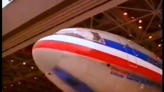 1991 American Airlines DC-10 to London commercial.