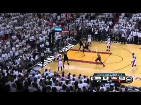 Brooklyn Nets 94 x 96 Miami Heat Game 5 Playoffs NBA 2013/2014