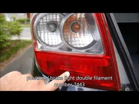 Honda Fit Brake Light Replacement