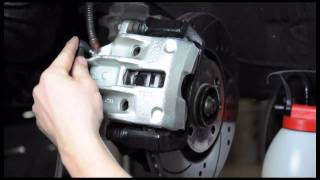 One person quick & clean brake bleeding - with JWL Brake Bleeders