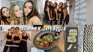 Living my healthy teenage summer lifestyle (vlog + what i eat in a day) hey guys, today's video is few day vlog for how live healthiest over...