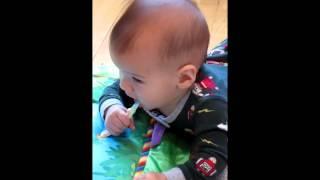 Oliver Brushing Teeth Thumbnail