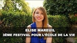 La nature dans les écoles Elise Mareuil 3ème festival pour l'école de la vie
