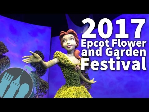 2017 Epcot Flower and Garden Festival Preview and Recommendations