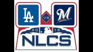 MLB Playoff Prediction! Dodgers vs. Brewers