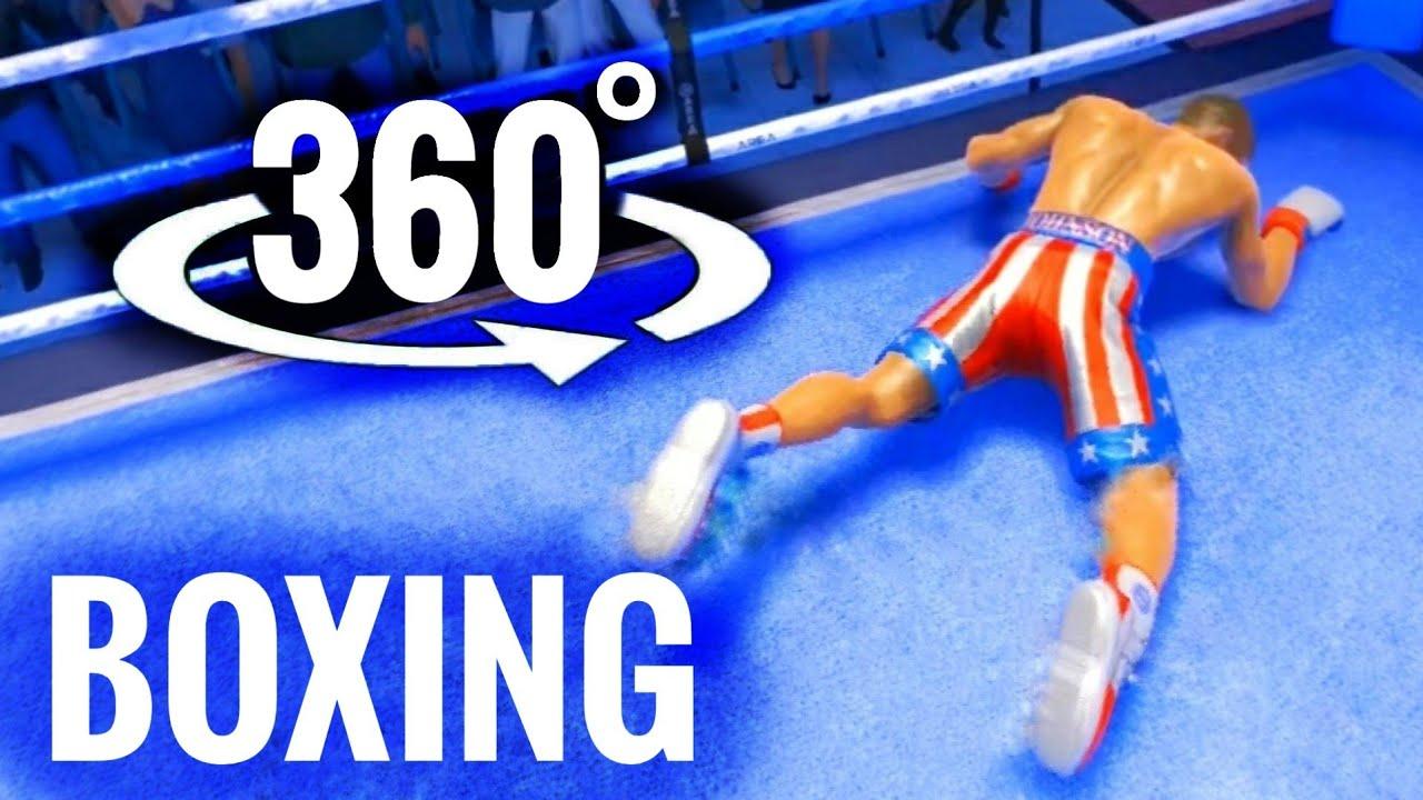 🏅✌️ VR 360 video Boxing Rocky Balboa's Apollo Creed Rise to Glory Oculus Won Virtual Reality