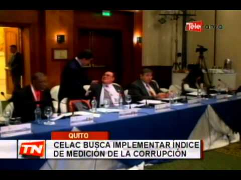 Celac busca implementar índice de medición de la corrupción