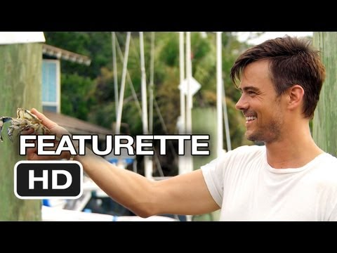 Safe Haven Behind The Scenes - Josh Duhamel Crabbing (2013) - Nicholas Sparks Movie HD