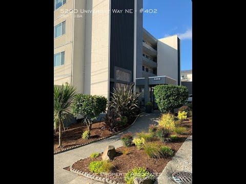 5200 University Way NE, #403, Seattle, WA. 98105