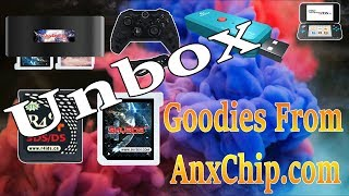 Unboxing Lots Of Goodies From AnxChip.com