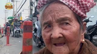 Nhận được tiền Tết, bà ngoại vé số quyết định nghỉ 3 ngày để ăn Tết!!!