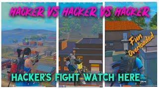 3Hacker's Team in same match | Fun Overloaded | Everyone Must Watch.