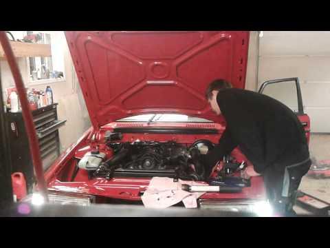 Volvo 242 , 16v 16 valve , b230 swap , Start up , walk ...