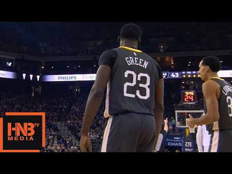 Draymond Green Ejected From The Game / GS Warriors vs Grizzlies