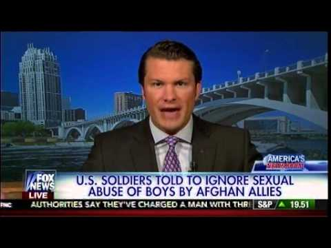 U.S.  Soldiers Told To Ignore Sexual Abuse Of Boys By Afghan Allies - America's Newsroom