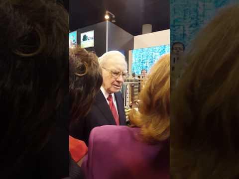 Warren Buffett at the Berkshire Hathaway Shareholders Meeting 2016