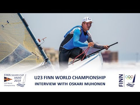 2019 Finn Silver Cup - Interview with Oskari Muhonen