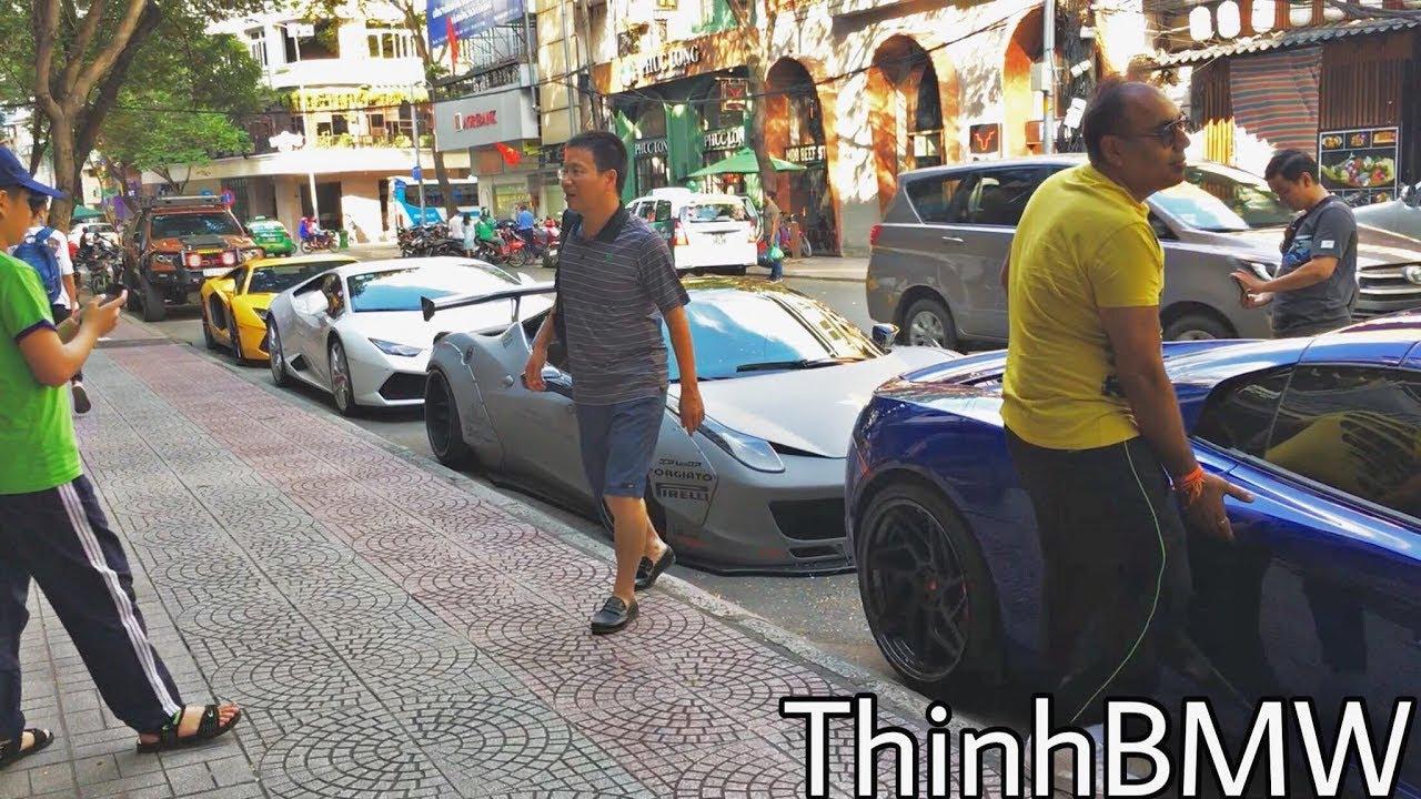 Phản ứng người nước ngoài khi gặp siêu xe McLaren của Cường Đô La