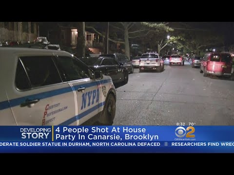 Four Shot At House Party In Brooklyn