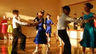 Открытый урок по бальным танцам 8 Джайв (май 2016) ТСК Фантазия