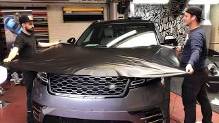 Range Rover Velar - Satin Black carwrap