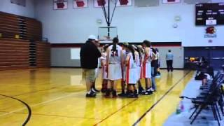 Waukon Indians 7th Grade Girls vs IA/IL Stunners at the LinMar Tournament, 2nd Half Semifinals