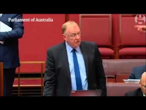 """""""Learn to speak Australian"""": Qld LNP Senator Ian MacDonald  tells Labor"""