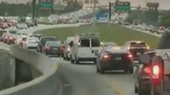Check Out the Highway Traffic in Florida as Families Evacuate Before Irma