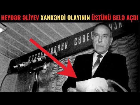 Heydər Əliyev Xankəndindəki Dəhşətli Olayın ÜSTÜNÜ BELƏ AÇDI - 39 ermənini...