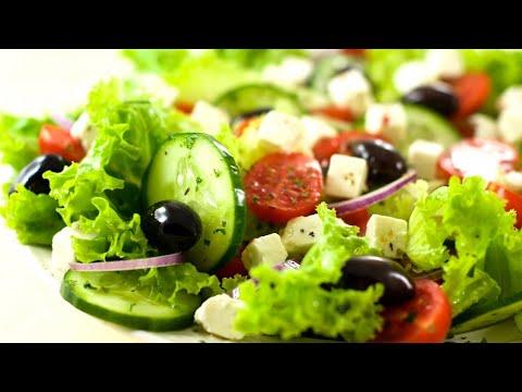 6 быстрых и вкусных салата БЕЗ МАЙОНЕЗА