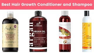 10 Best Hair Growth Conditioners and Shampoos 2019 | Prevent Hair Fall and Treat Damaged Hair