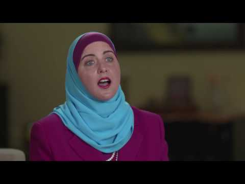 Muslim American senate candidate discusses hate speech
