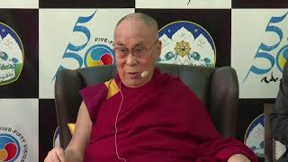 His Holiness the Dalai Lama's address at Five-Fifty Forum.