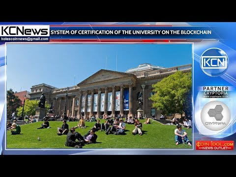 The University of Australia is moving to blockchain