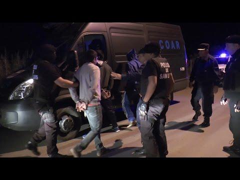 Operativos policiales de prevención en San Francisco, Luján y Quines