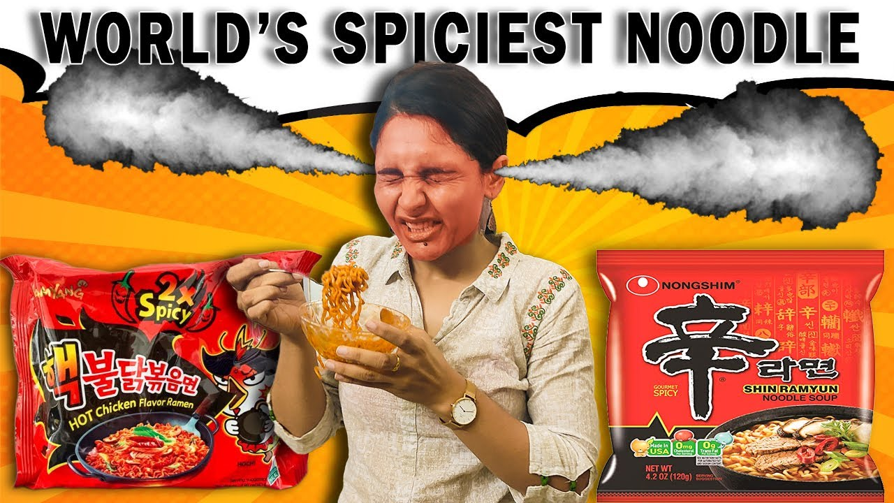 We Tried World's SPICIEST Noodles 🥵 || Kuch Extra Spicy Ho Gea... 😱