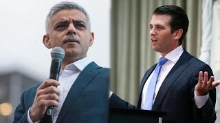 Trump Jr. bashes London mayor in Tweet